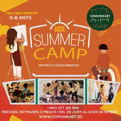 Summer Camp - Comunikart Tortosa 2021
