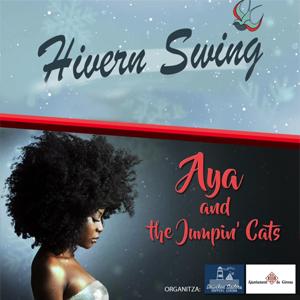 Concert d'Aya and the Jumpin' Cats a Girona, 2020