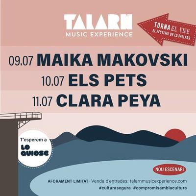 Talarn Music Experience, Lo Quiosc, 2021