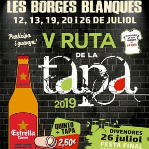 V Ruta de la Tapa de Les Borges Blanques, 2019