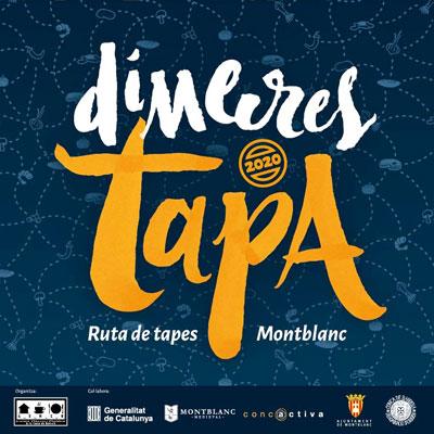 Dimecres Tapa, ruta de tapes de Montblanc, 2019