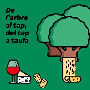 'De l'arbre al tap, del tap a taula'
