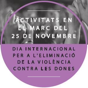 Dia internacional per a l'eliminació de la violència contra les dones, Tarragona, 2019