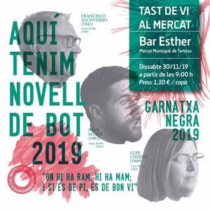 Tast de vi al Mercat - Agrícola Sant Josep Tortosa 2019
