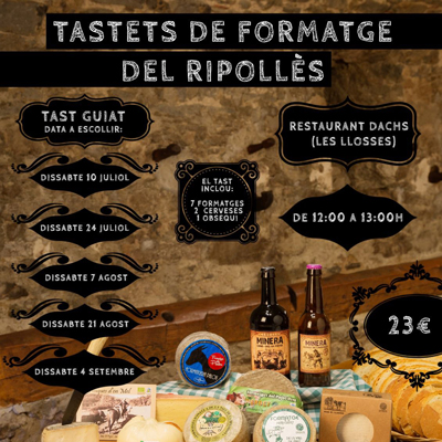 Tastets de Formatge del Ripollès - Cartell