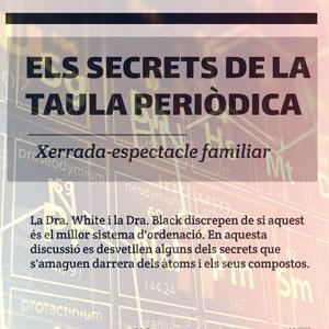 Xerrada-espectacle 'Els secrets de la taula periòdica'