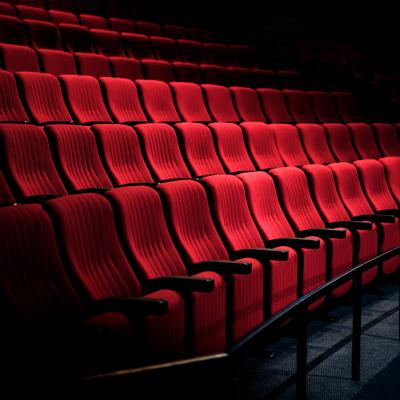 Butaques de Teatre, Platea de Teatre, Seients vermells