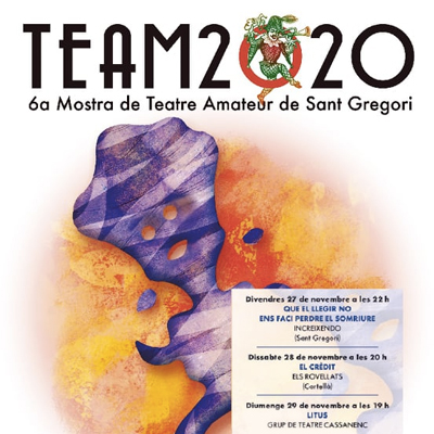 6a Mostra de Teatre Amateur de Sant Gregori, 2020