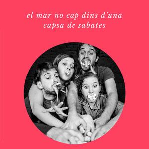Teatre 'El mar no cap dins una capsa de sabates' de Laia Alsina Ferrer