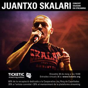 #StreamingsSolidaris: Juantxo Skalari