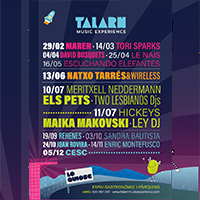 El cartell del Talarn Music Experience