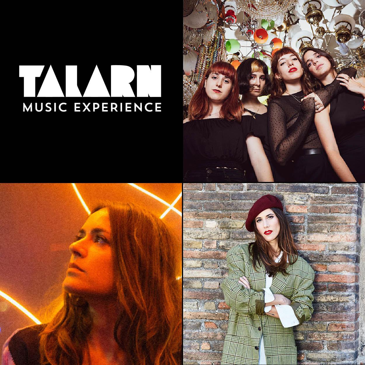 El cartell del Talarn Music Experience d'Estiu