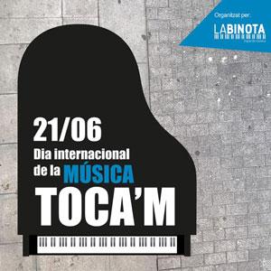 Dia internacional de la Música - Toca'm Tortosa 2019