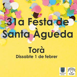 31a Festa de Santa Àguerda a Torà, 2020