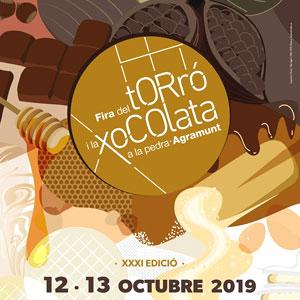 31a edició de la Fira del Torró i la Xocolata a la pedra d'Agramunt, 2019