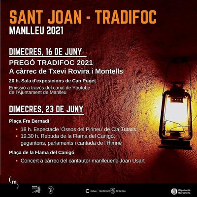 Sant Joan - Tradifoc - Manlleu 2021