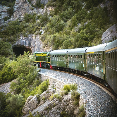 El tren dels llacs - Lleida - La Pobla de Segur