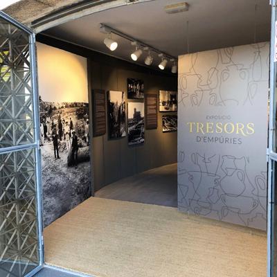 Exposició 'Tresors d'Empúries' al MAC Empúries, 2021