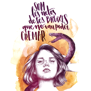 Llibre 'Som les netes de les bruixes que no vau poder cremar' d'Ame Soler, Tres Voltes Rebel