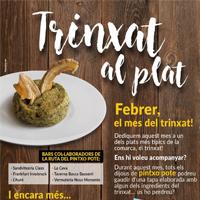 Fragment del cartell de les jornades gastronòmiques del trinxat