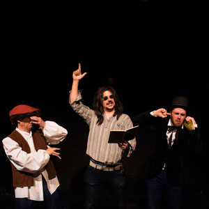 Espectacle 'Un altre cop poesia no!' - Trio Epítet