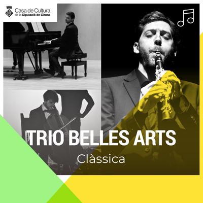 Concert del Trio Belles Arts a la Casa de Cultura, Girona, 2020