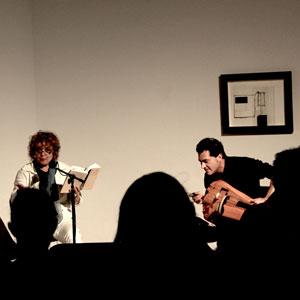 Recital poètic 'Un cor de carn' amb Dolors Miquel i Marc Egea