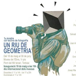 Exposició 'Un riu de geometria' - Tortosa 2019