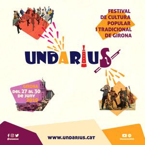 Festival de Cultura Popular i Tradicional 'Undàrius' a Girona, 2019