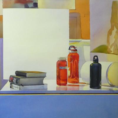 'Botella roja' de Joaquín Ureña