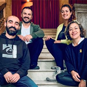 Teatre 'Quàntica (o l'increïble experiment de la Valentina)' de la companyia Anna Roca