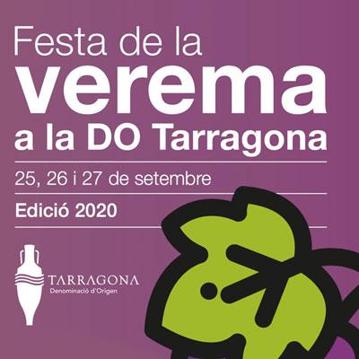 Festa de la Verema a la DO Tarragona, 2020
