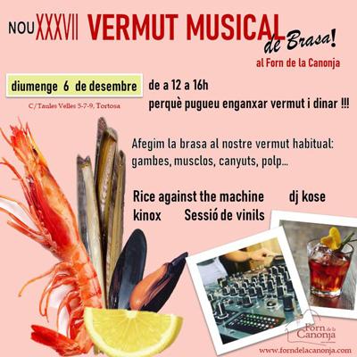 Vermut Musical, de brasa!, Forn de la Canonja, Tortosa, 2020