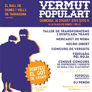 Vermut Populart de Dames i Vells a Tarragona, 2019