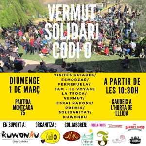 Vermut solidàri de Codi0, Lleida, 2020