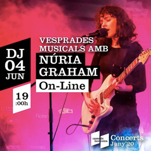 Vesprades musicals: Núria Graham, Cases de la Música, 2020