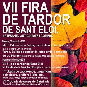 VII Fira de Tardor de Sant Eloi - Tortosa 2019