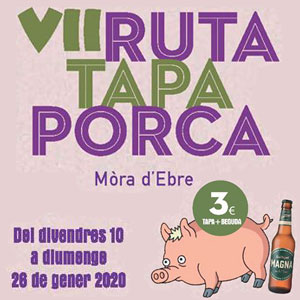 VII Ruta Tapa Porca - Móra d'Ebre 2020