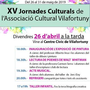 XV Jornades Culturals de Vilafortuny