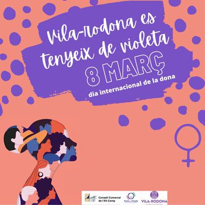 Dia Internacional de la Dona a Vila-rodona, 2021