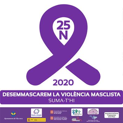 Dia Internacional per a l'Eliminació de la Violència envers les Dones a Vila-seca, 2020