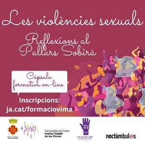 Formació online 'Les violències sexuals. Reflexions al Pallars Sobirà', 2020