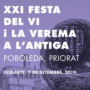 XXi Festa del Vi i la Verema a l'Antiga a Poboleda, 2019