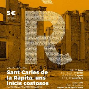 Visita teatral 'Sant Carles de la Ràpita, uns inicis costosos' - La Ràpita 2019