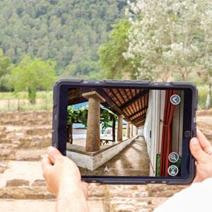 Vilauba en 3D. Entrem a la vil·la romana, Vil·la romana de Vilauba, Banyoles, 2019