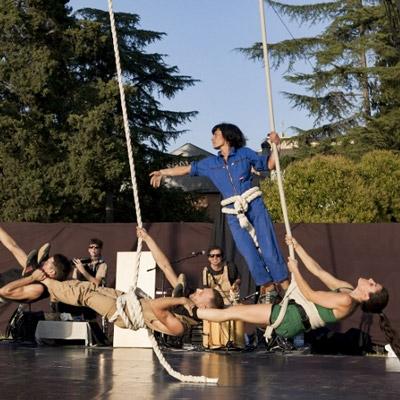 Espectacle de circ 'VoloV' del col·lectiu TQM