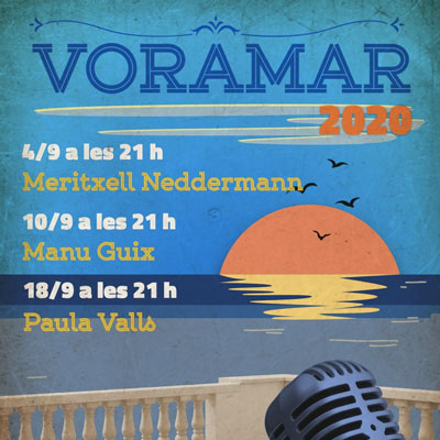 Cicle de concerts Voramar, Teatret del Serrallo, Tarragona, 2020