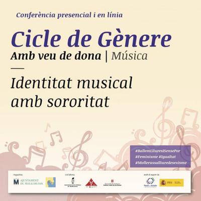 Conferència 'Identitat musical amb sororitat' a Mollerussa