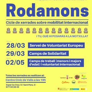 Cicle de xerrades 'Rodamons' a Valls, 2019