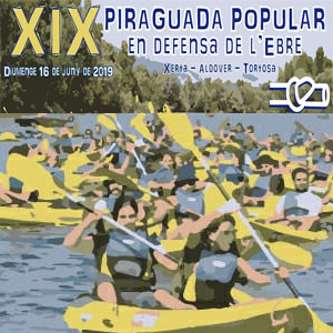 XIX Piraguada Popular en Defensa de l'Ebre - PDE 2019